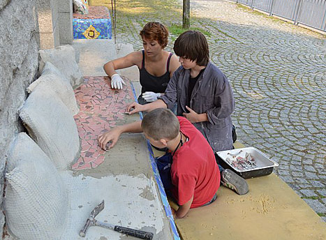 workshop- mosaik